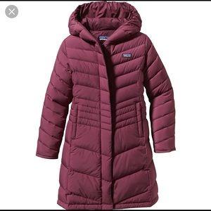 Girls size L Patagonia down puffy